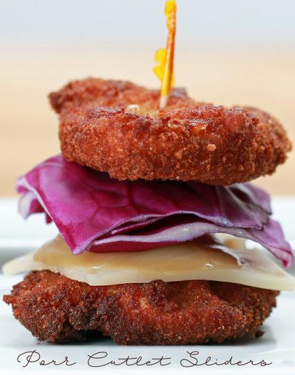 #Recipe : Pork Cutlet Sliders | Cooking Blog | DIY & Crafts | Scoop.it