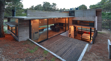 BAK arquitectos construct pedroso house in a pine forest. | Arquitectura: Unifamiliars | Scoop.it