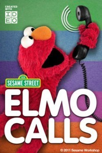 "Just in Time for Christmas, Scholastic's ""Text-Me Elmo"".  ""Twitter-Me Elmo"" will come out soon :) 