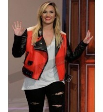 Demi Lovato Acne Studios Jacket | Designers Women Leather Jackets & Pants | Scoop.it