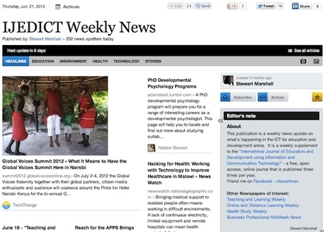 IJEDICT Weekly News   Studying Teaching and Learning   Scoop.it