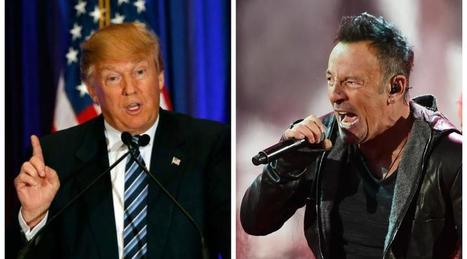 Bruce Springsteen : « Trump fait honte aux Etats-Unis » - Ouest-France | Bruce Springsteen | Scoop.it