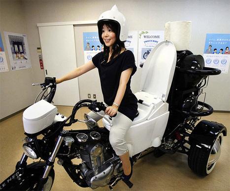 La moto-toilettes : la nouvelle invention des japonais | re-inventing ourselves every day | Scoop.it