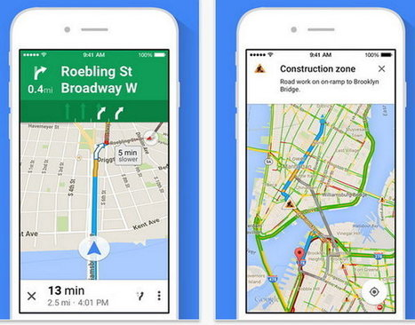 Actualización de Google Maps para iOS ahora permite ver mapas a pantalla completa | Mobile Technology | Scoop.it