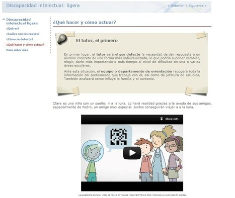 Recursos Educativos Abiertos para atención a la Diversidad - CeDeC | tecnología y aprendizaje | Scoop.it