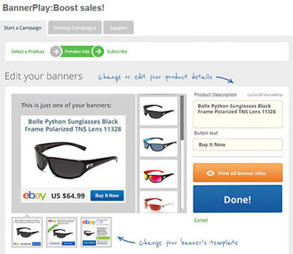 Driving Traffic to eBay and Etsy Listings through BannerPlay Ads - EcommerceBytes | Pinterest and Etsy | Scoop.it