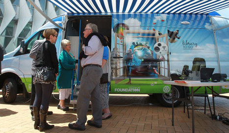 Christchurch Library Vans Unveiled | SocialLibrary | Scoop.it