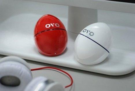 $49 OVO Egg-Shaped Media Player Helps You Collect and Organize Online Videos With your Smartphone | Embedded Systems News | Scoop.it