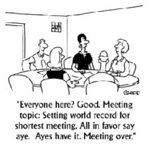 Top Five Tips for Running Effective Meetings | social media top stories | Scoop.it