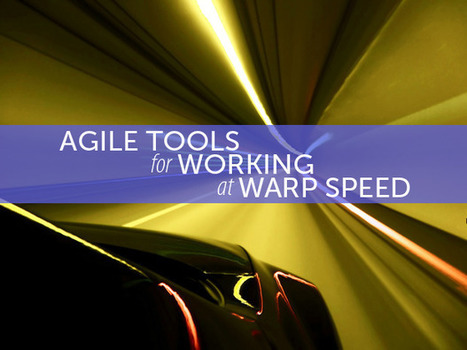 9 agile development tools for working at warp speed | Agile Software Development | Scoop.it