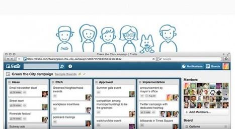 Herramientas para trabajar en equipo online | Tics tacs y otras derias | Scoop.it