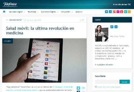 """mHealth: Interview with Jorge Fernández """"passionate for creating new products that have real impact in people's life"""". 