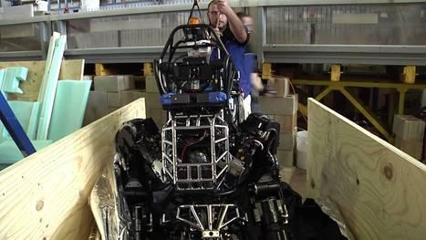 MIT Robotics Team Unboxes Its Humanoid Atlas Robot Created by ... | Humanoid Robots, Uncanny Valley | Scoop.it