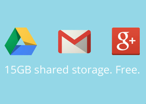 Google unifica 15 GB gratis para Drive, Gmail y Google+ - MuyComputer | la nube uso de google | Scoop.it