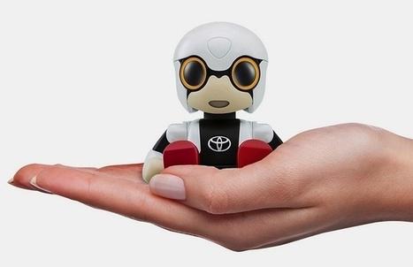 Kirobo Mini : Toyota dévoile son robot | La Boîte à Bazar d'A3CV | Scoop.it