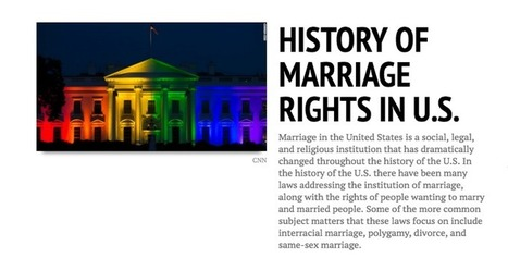 Timeline Of The Evolution Of Marriage Rights In The U.S. | Legal Issues, News, Safety, and Everything In Between | Scoop.it