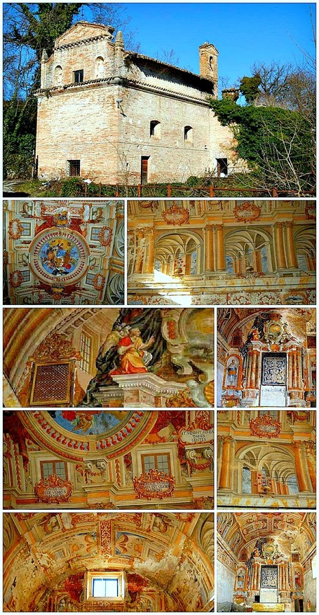 Secret Treasures of Le Marche: Chiesa della Madonna di Loreto, Sarnano | Le Marche another Italy | Scoop.it