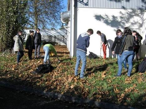 Castres. Les lycéens de La Borde Basse travaillent sur l'évolution des déchets | La Borde au coeur de l'Actu. | Scoop.it