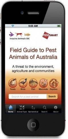 News from the community: Invasive Animals CRC releases 'Field Guide to Pest Animals' App | Atlas of Living Australia | mrpbps iDevices | Scoop.it