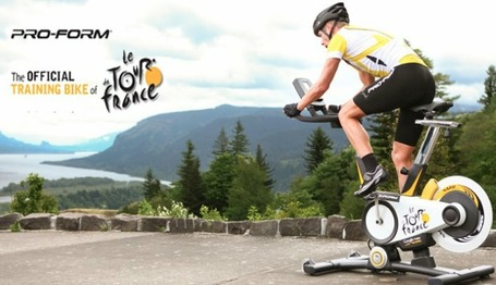 Le Tour de France : Pourquoi pas en vélo d'appartement ? | L'essentiel Luxe & Lifestyle | Scoop.it