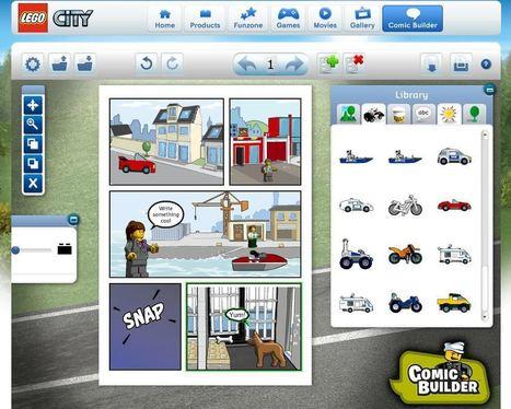 LEGO.com : Comic Builder | rochas | Scoop.it