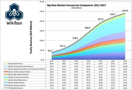 Big Data Vendor Revenue And Market Forecast 2012-2017 - Wikibon | Northern Ireland Whats On | Scoop.it