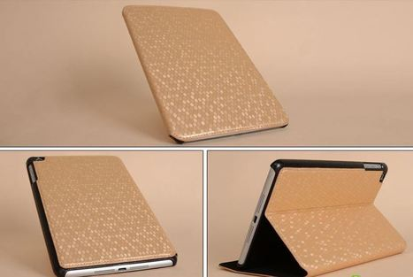 Gold ultra thin iPad mini case | Apple iPhone and iPad news | Scoop.it