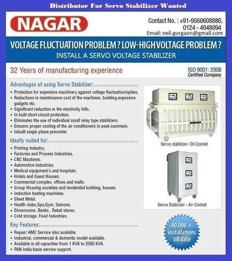 Timeline Photos - Servo Voltage Stabilizer Manufacturer India | Facebook | Power management System | Scoop.it