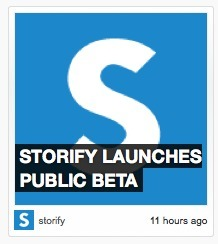 Stunning new social media curation tool Storify launches to the public - SimplyZesty tests the tool | Brand & Content Curation | Scoop.it