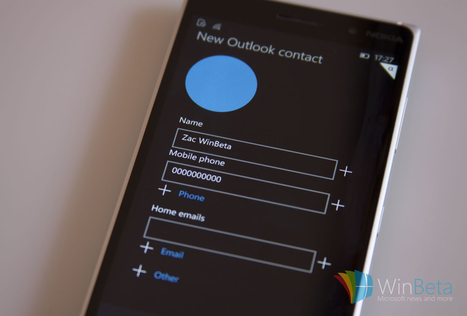 Windows 10 for phones: People, Phone, and Messaging apps receive visual overhaul | codice a mano | Scoop.it