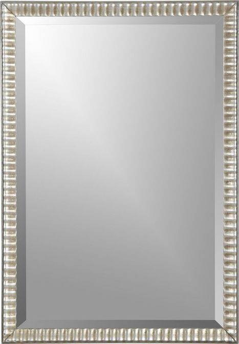 Silver Ripple Wall Mirror | Personal | Scoop.it