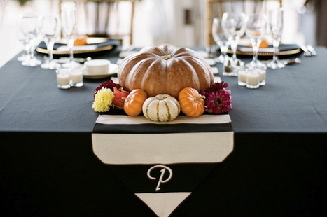 Falling in Love: Tablescape Ideas for Your Autumn Wedding - The Daily Meal | Wedding Ideas | Scoop.it