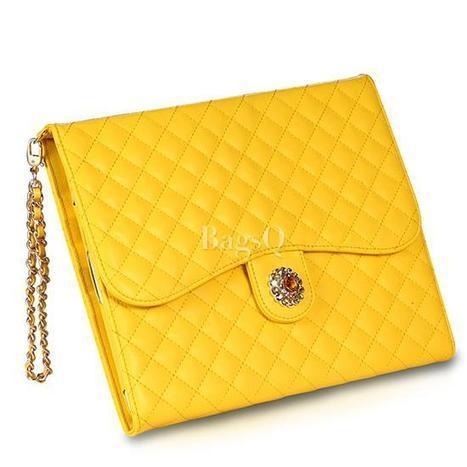 $ 48.99 Delicate Flower Chain Leather Carrying Case for iPad 2/3/4 | fashion | Scoop.it
