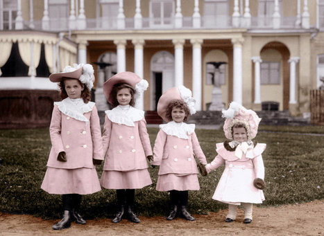 The Grand Duchesses of Russia, in 1902 - Olga, Tatiana, Maria and Anastasia Romanov | The Romanov family | Scoop.it