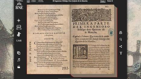 La Biblioteca Nacional digitaliza 75.000 obras de sus fondos | Ciencia, Tecnología y Economía - Science, Tecnology & Economics | Scoop.it
