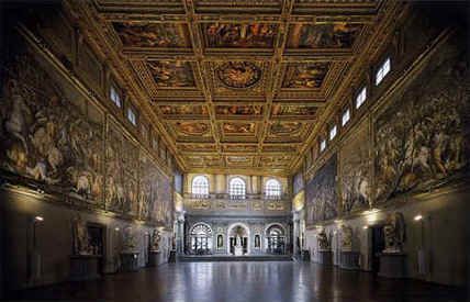 The Hall of the Five Hundred | Tourism in Florence | Scoop.it