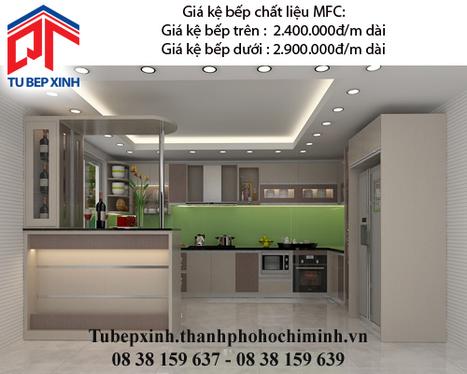Kệ bếp MFC nhà chị Thảo - Quận 1 - ke-bep-mfc-nha-chi-Thoa---Quan-1 - tu van du hoc uy tin|du hoc gia re - | TỦ BẾP MFC - GIÁ TỦ BẾP MFC | Scoop.it