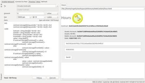 DESPERADOS THEORY: Prototype TimeBank on ethereum | Peer2Politics | Scoop.it