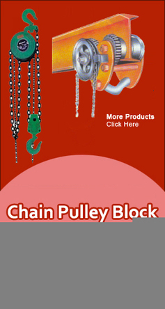Hand Operating Chain Pulley Block, Chain Pulley Block Manufacturers India | bhtindia | Scoop.it