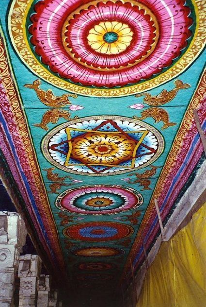 Ceiling pattern in India | Year 3-4 Arts: Visual arts - Indian patterns | Scoop.it