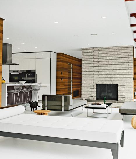 Slideshow: A Midcentury Modern Renovation in Hudson Valley   Dwell   Decor   Scoop.it