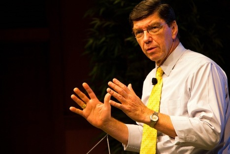 """Clay Christensen on the news industry: """"We didn't quite understand…how quickly things fall off the cliff"""" 