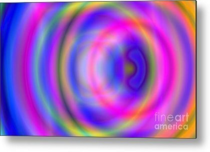 Rainbow Of Rings Metal Print by Christy Leigh | Art and Photography and Inspiration | Scoop.it