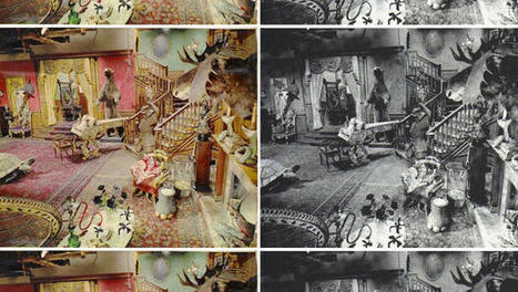 The Addams Family's Living Room Was ... Pink!? | urban designs | Scoop.it