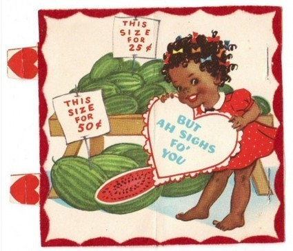 Be My Racist Valentine | Antiques & Vintage Collectibles | Scoop.it