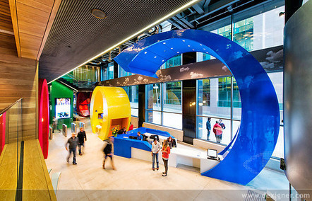 Pedrali Furnishes Google Campus in Dublin | Inspired By Design | Scoop.it