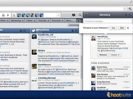 HootSuite Launches Conversations, The Internal Communication Tool | formation 2.0 | Scoop.it
