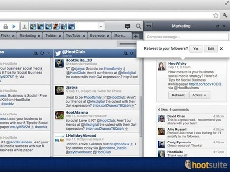 HootSuite Launches Conversations, The Internal Communication Tool | Time to Learn | Scoop.it