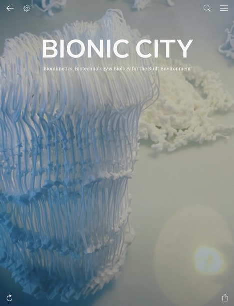 Bionic City magazine, May 2016 | SMART URBANISM + PARAMETRIC DESIGN | Scoop.it