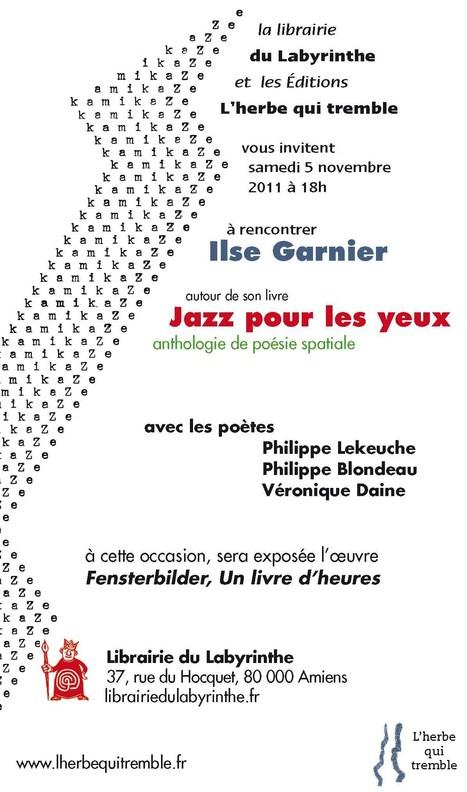 Ilse Garnier à Amiens le 5 novembre | Poezibao | Scoop.it